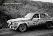 NISSAN Bluebird Andy Dawson/Kevin Gormley  RAC Rally 1980 10x7